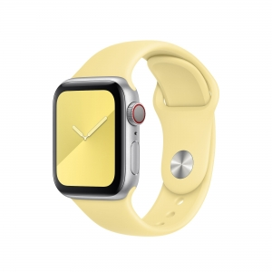 Apple Watch Band 40mm Lemon Cream Sport Band - S/M & M/L