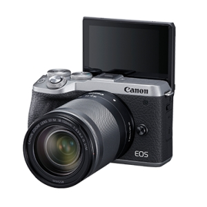 CANON EOS M6 Mark II Kit EF-M 18-150mm f/3.5-6.3 IS STM - Silver