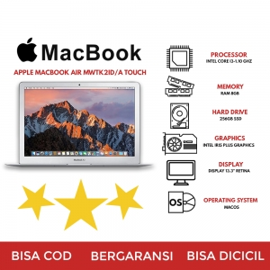 APPLE MACBOOK AIR MWTK2ID/A TOUCH-ID SILVER 2020
