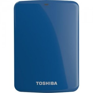 TOSHIBA Canvio Connect II USB 3.0 - 500GB Blue