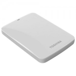 Toshiba Canvio Connect 500GB USB 3.0 (White)
