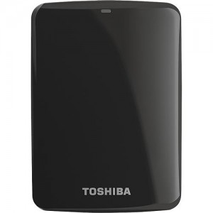 Toshiba Canvio Connect  1TB USB 3.0 (Black)