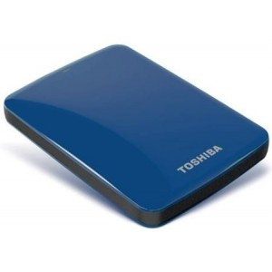 Toshiba Canvio Connect  1TB USB 3.0 (Blue)