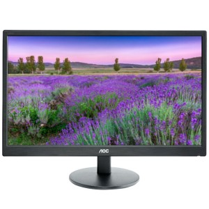"AOC Monitor E2060V LED 19,5"" touch"