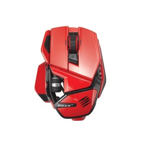 Mad Catz M.O.U.S. 9 Gaming Mouse - Red