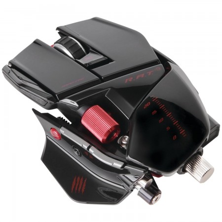 Mad Catz R.A.T. 9 Gaming Mouse - Matte Black