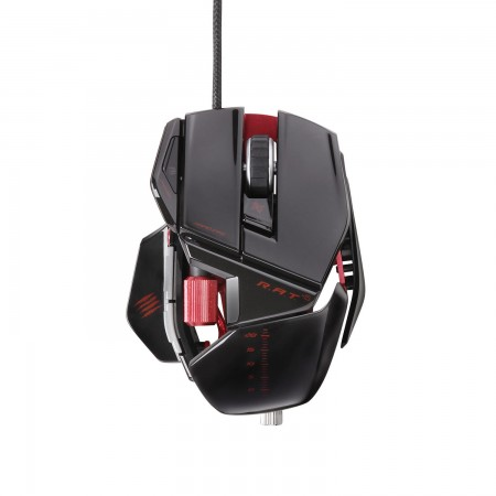 Mad Catz R.A.T. 5 Gaming Mouse - Gloss Black