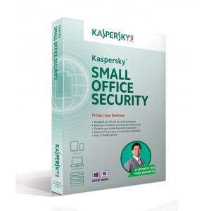 Kaspersky Small Office Security 25 Client + 3 Server