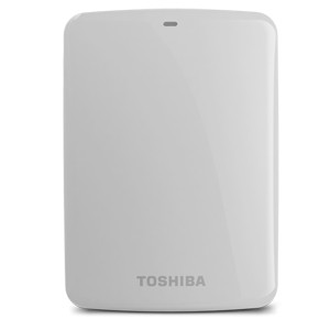 TOSHIBA Canvio Basic 3.0 Portable Hard Drive 3TB White