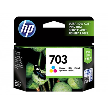 HP Tri Color Ink Cartridge 703 [CD888AA]