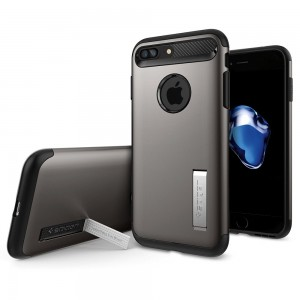 SPIGEN iPhone 7 Plus Case Slim Armor - Gunmetal