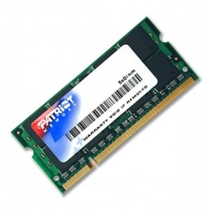 PATRIOT SODIMM DDR3 PC12800 4GB - PSD3 4G 1600 S
