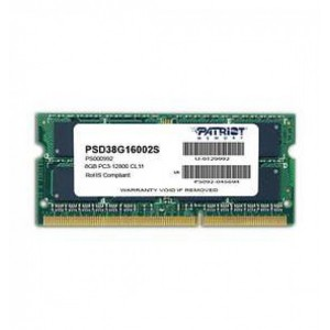 PATRIOT SODIMM DDR4 PC17000 8GB - PSD4 8G 2133 SK