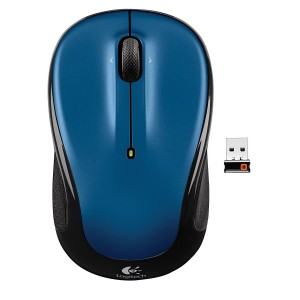 LOGITECH M325 Wireless Mouse- Blue