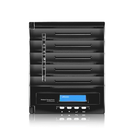 THECUS 2-bay Tower Windows NAS [W2000]
