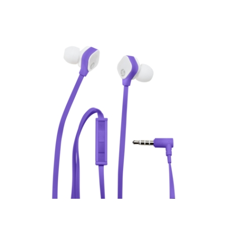 HP H2310 Coral In-ear Headset - Purple [M2J40AA]