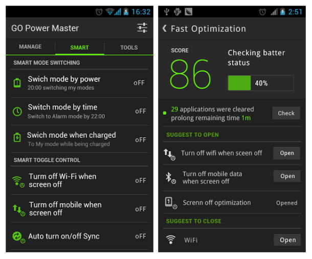 Go Power Master Battery Saver