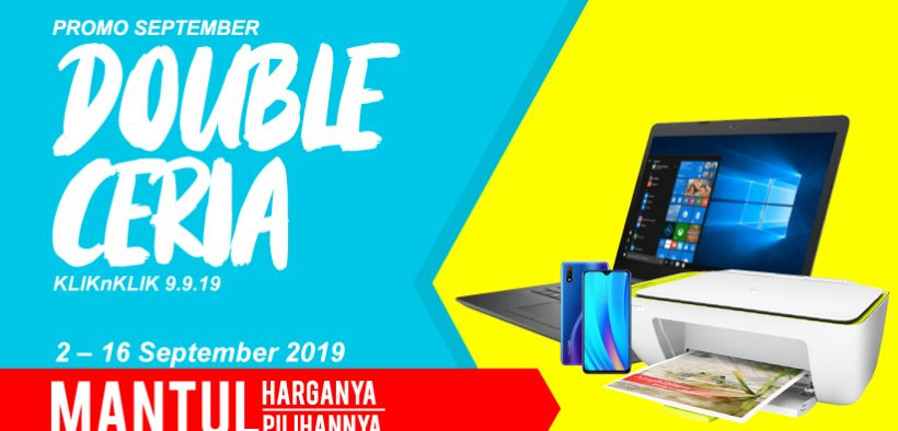Promo September Double Ceria Diskon 9 9 19 Kliknklik Official Blog